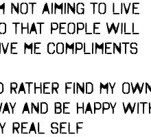 My Real Self by Colleen Hernandez