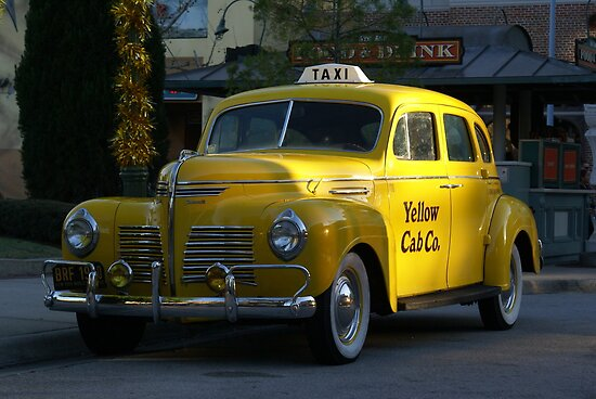 Taxi Anyone by Darren Kitchen