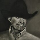 George Strait by  Bob Hall