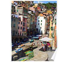 Riomaggorie, Italy  Poster