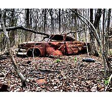 Abandoned Auto. Charles County, Maryland. 2009 Photographic Print