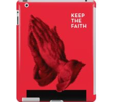 Keep The Faith iPad Case/Skin