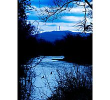 I Got Lost In The Blues Photographic Print