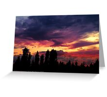 Cloudy Skies Greeting Card