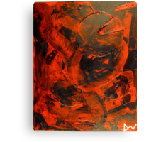 Evil Pac-man(Abstract)©  Canvas Print