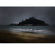 Misty Mount. Photographic Print