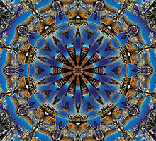 Chrome Robotic Kaleidoscope by fantasytripp