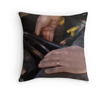 Down and Dirty Digits Throw Pillow