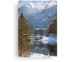 Lake Bohinj, Slovenia Canvas Print
