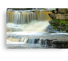 Touch of Water Canvas Print