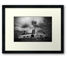 Fallen Empire Framed Print