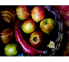 Coloured fruits Photographic Print