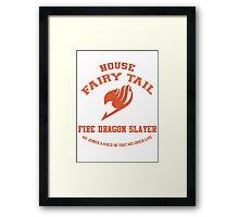 Fire Dragon Slayer - Normal Framed Print