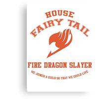 Fire Dragon Slayer - Normal Canvas Print
