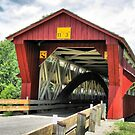 Bigelow Covered Bridge by Monnie Ryan