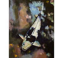 Utsuri Koi Reflections Photographic Print