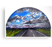 The Distance Between You and I... (panel #3) Metal Print
