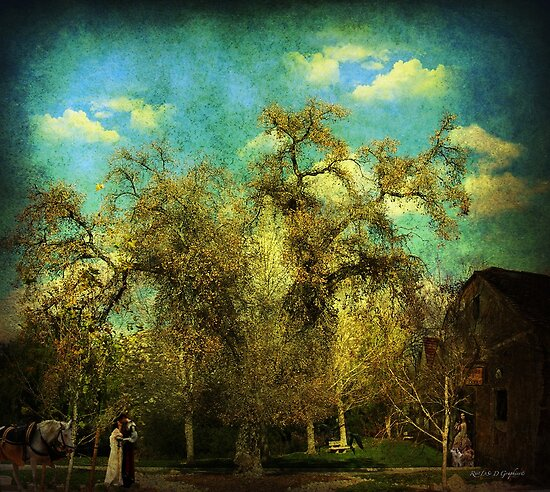 The Serenity (La Serenissima) Art & Poetry by Rhonda Strickland