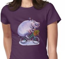 hippo on bicycle with icecream T-Shirt