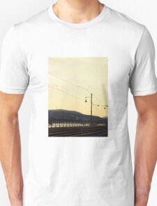 Tracks along the Danube Unisex T-Shirt