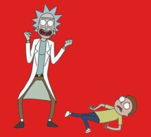 Rick and Morty Baby Tee