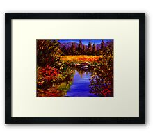 River Reflections on Tuolumne Meadows Framed Print