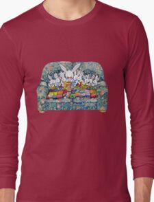 bunny bed time Long Sleeve T-Shirt