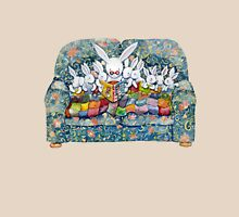 bunny bed time Womens Fitted T-Shirt