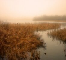 Russell Lake, Dartmouth Nova Scotia by murrstevens