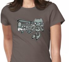 Gargoyle Mascot Tag Womens Fitted T-Shirt