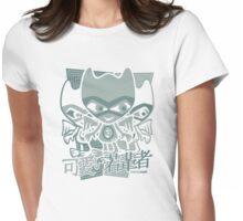 Gargoyle Mascot Stencil Womens Fitted T-Shirt