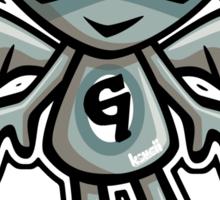 Gargoyle Mascot Sticker