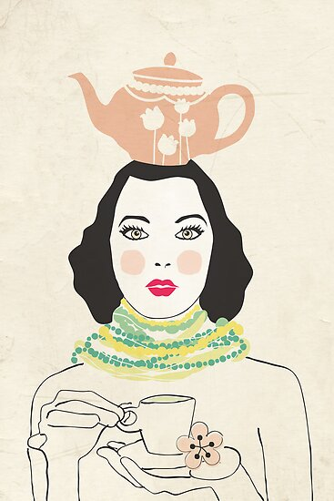 Green Tea Girl by Tiffany Atkin