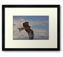 Hunting Low Framed Print