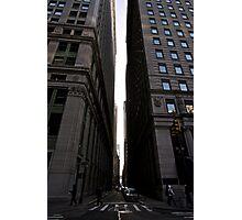 Broadway and Pine Street Photographic Print