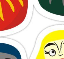Hogwarts Daruma Sticker