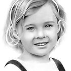 Little Lady (Pencil) by Jo Holden