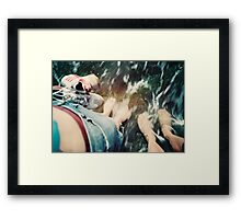 Lomo - Cooling down Framed Print