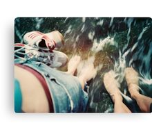 Lomo - Cooling down Canvas Print