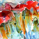Juicy Watercolor Calendar by Yevgenia Watts