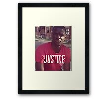 Justice for Freddie Gray Framed Print