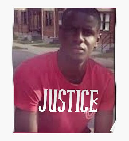 Justice for Freddie Gray Poster