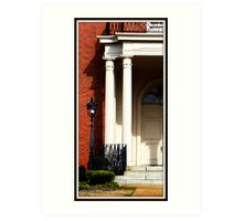 Old Griffin library Art Print