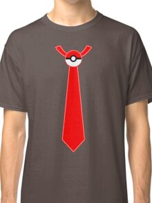 Pokeball Tie Tee Classic T-Shirt
