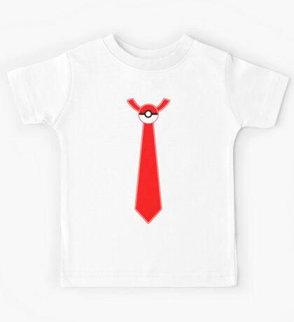 Pokeball Tie Tee Kids Tee