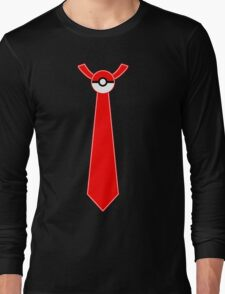 Pokeball Tie Tee Long Sleeve T-Shirt