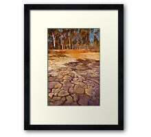 The Water Puzzle Framed Print