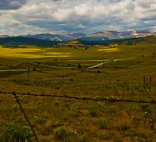 Wide Open Mountain Land by Roschetzky