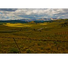 Wide Open Mountain Land Photographic Print