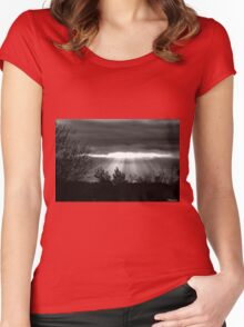 The Last Rays! Women's Fitted Scoop T-Shirt